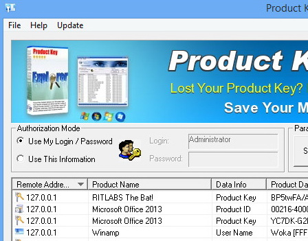 Product Key Explorer 3.7.0.0