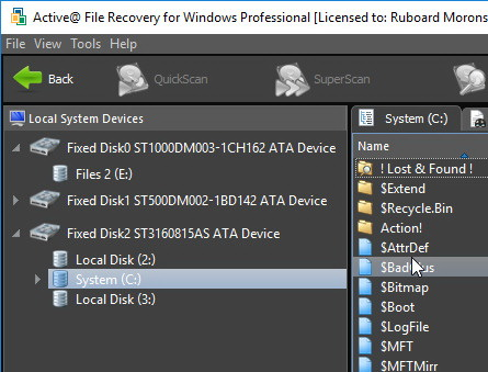 Active File Recovery Pro 15.0.7 + ключ (русская версия)